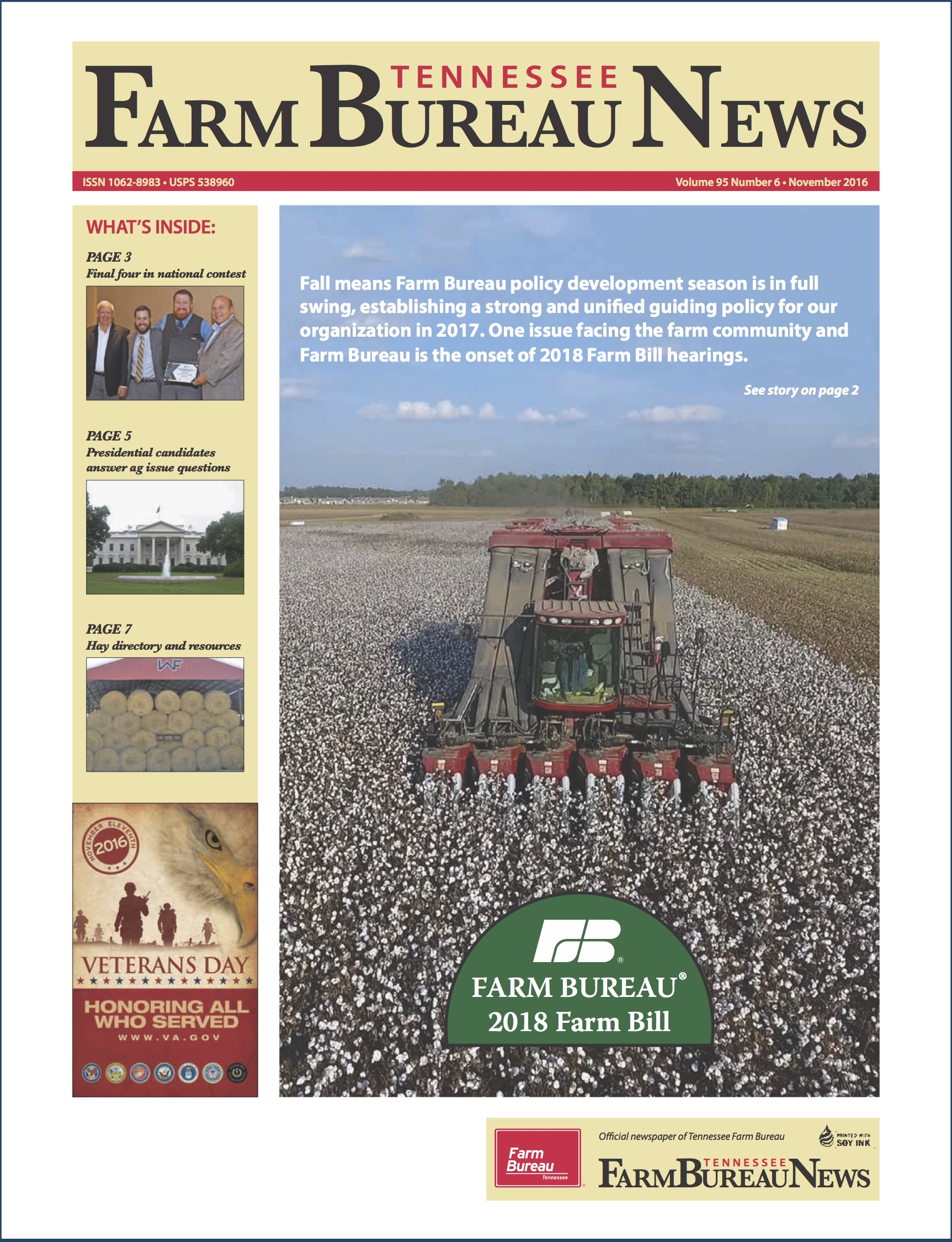 november 2016 Farm Bureau News