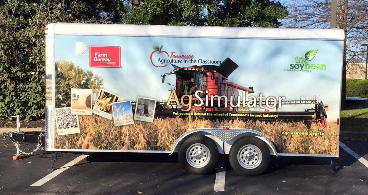 TN AITC tractor simulator