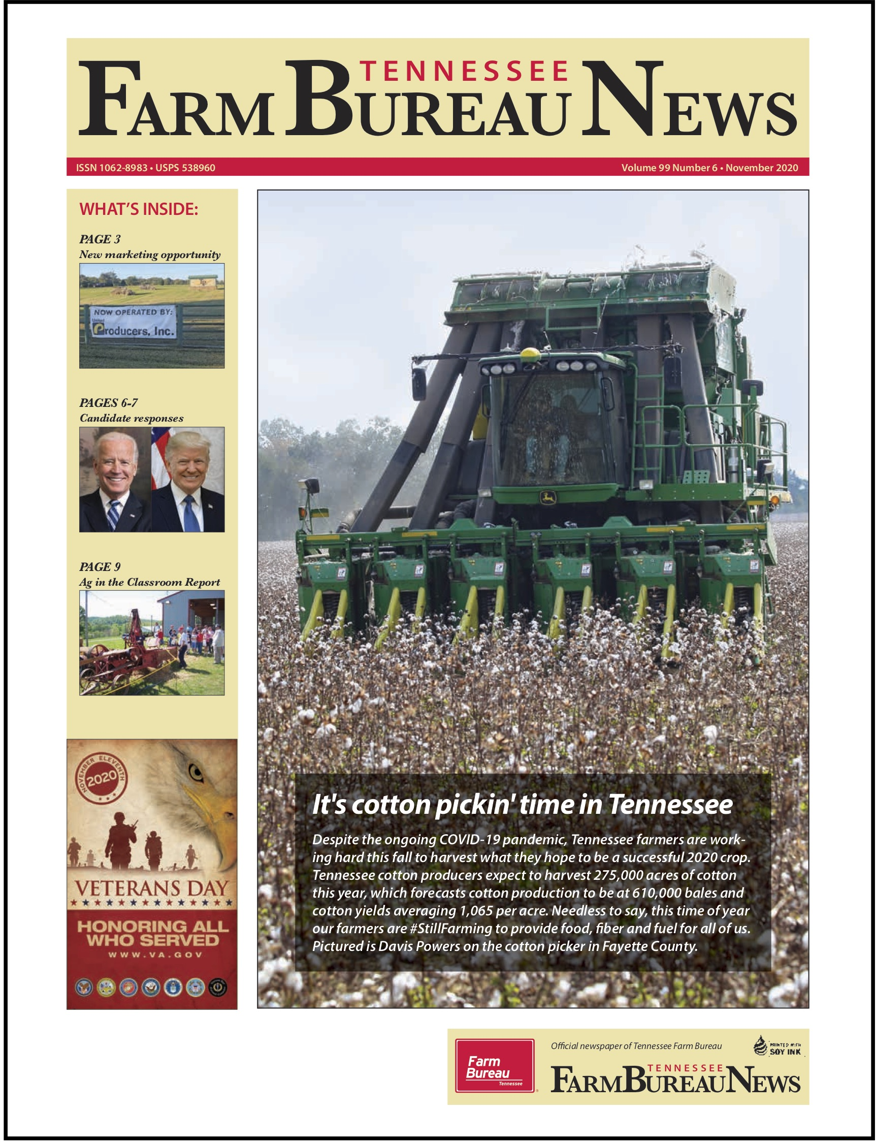 TN Farm Bureau News Nov 2020